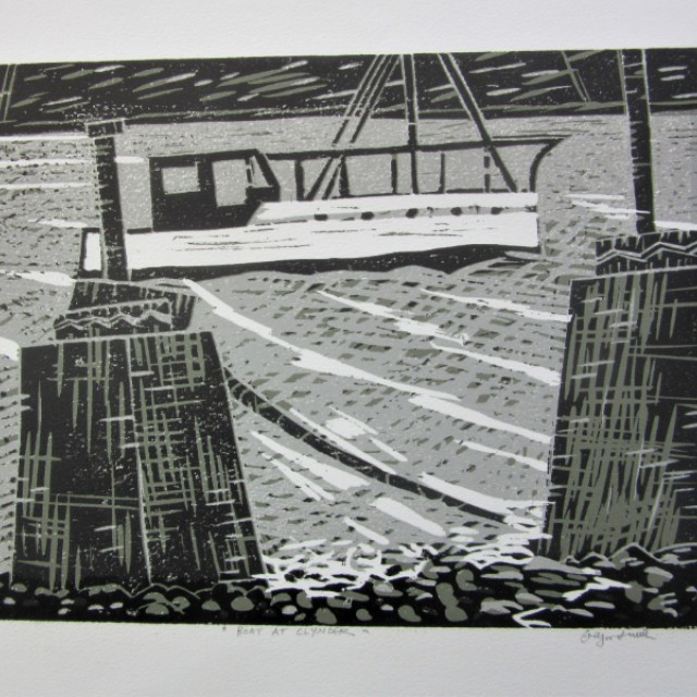 Boat at Clynder, Gare Loch