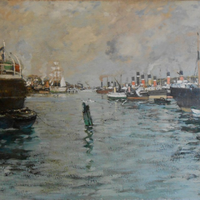 Steamboats on the Clyde