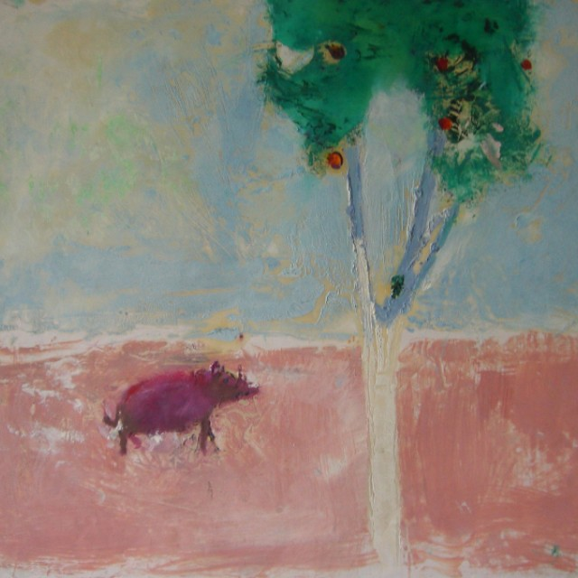 Wild Boar & Orange Tree