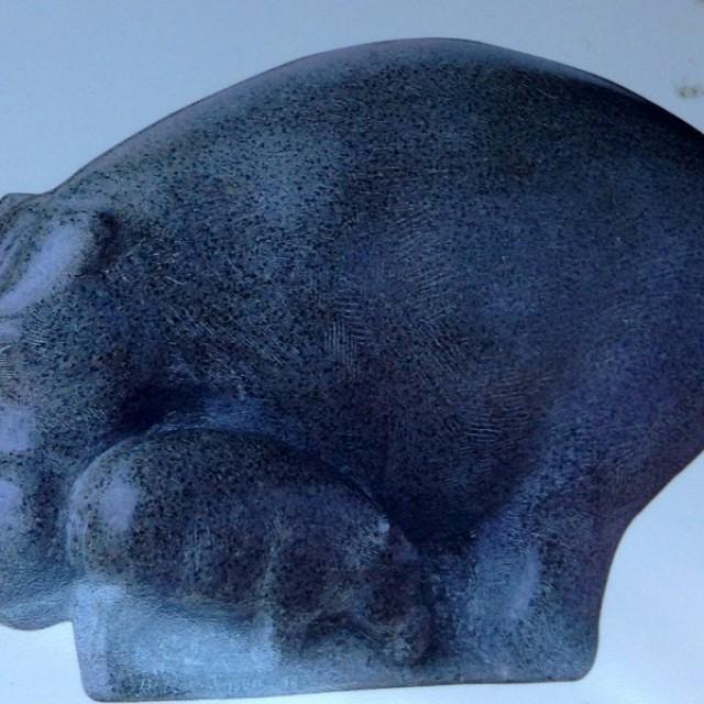 Big Hippo & Calf