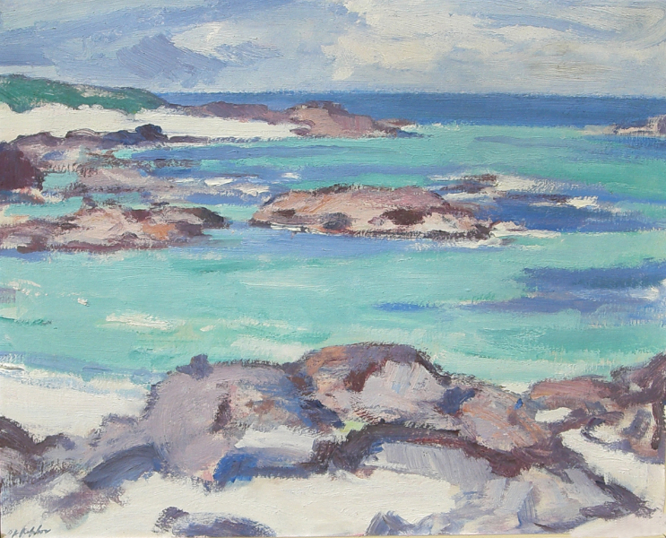 West Coast Shoreline (Rocky Shore)