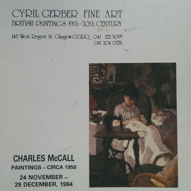 Charles McCall: Paintings circa 1950