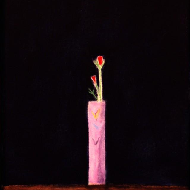 Still Life, Pink Vase