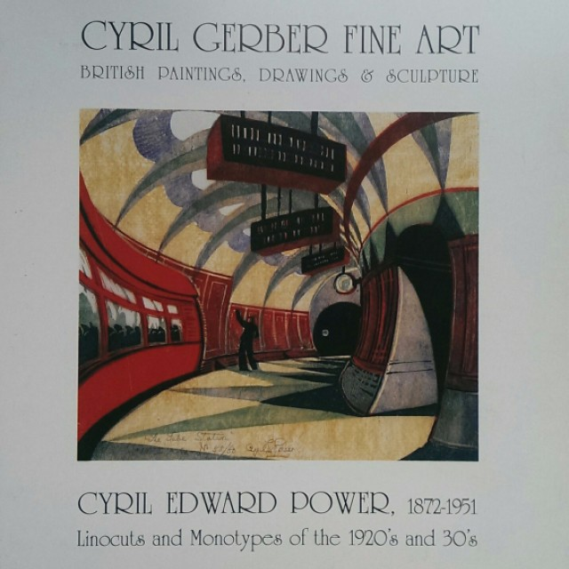Cyril Edward Power, Linocuts and Monotypes of the 1920s and 30s
