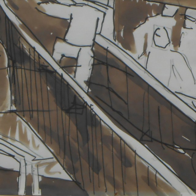 Staircase (Sappers) 1918