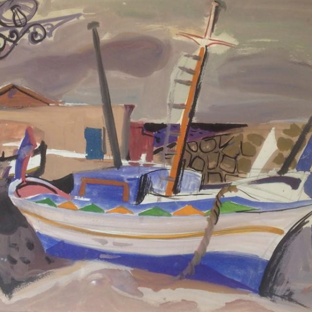 Boat, Sicily, 1957