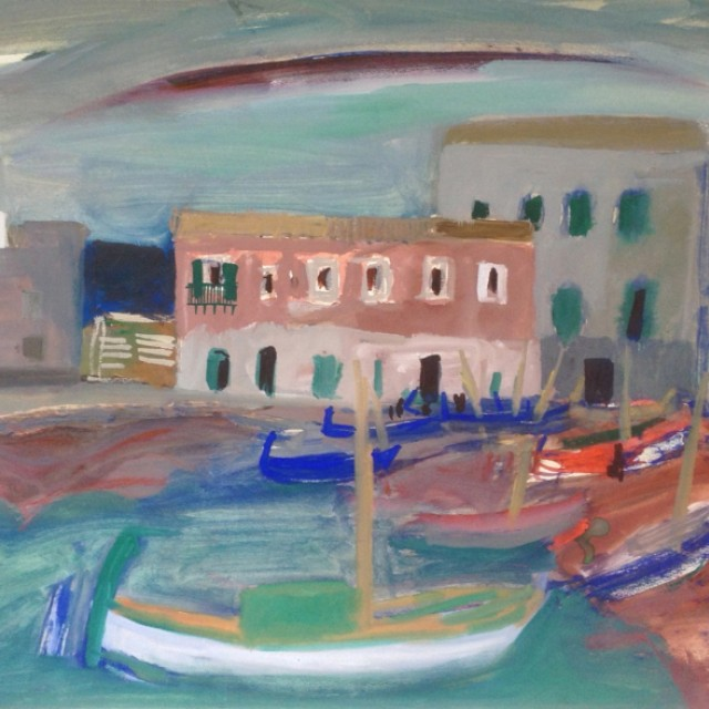 Boats on the Shore, 1956