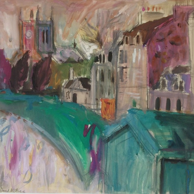 Houses and Church, Millport i