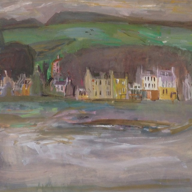 Houses on the Front, Millport, i, 1955