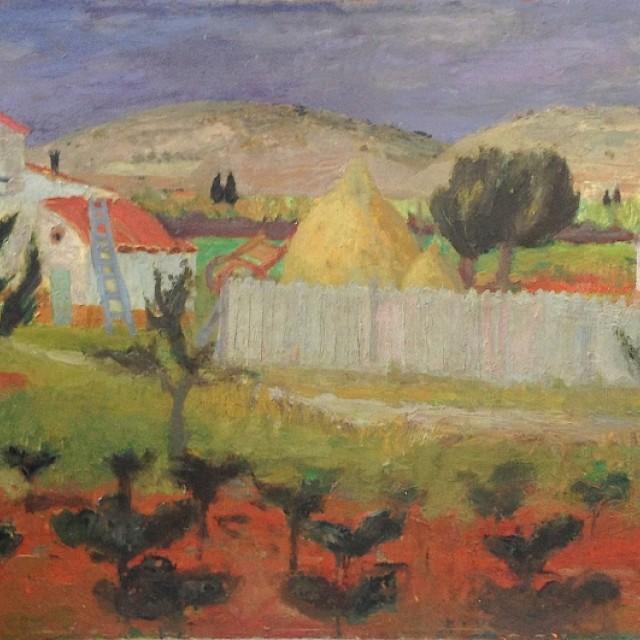 Landscape, Spain, 1953