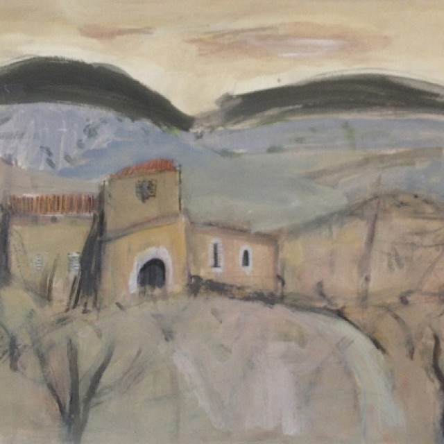 Landscape with Farm Buildings II, 1956