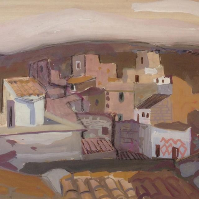 Rooftops II, 1956