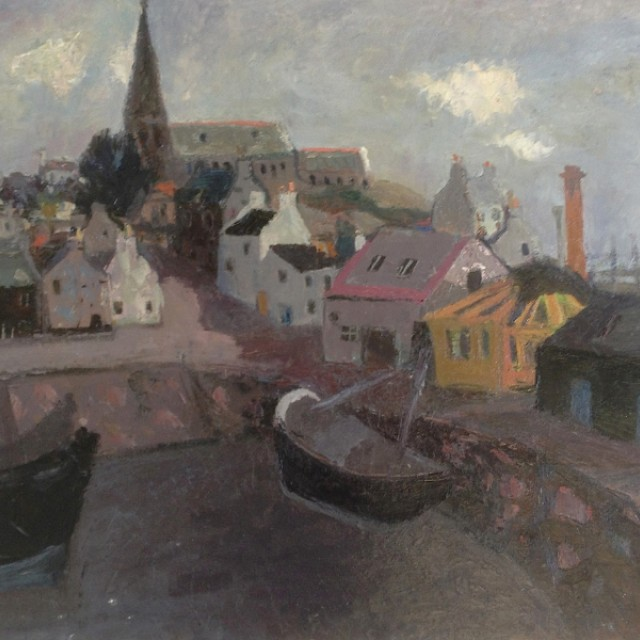 Anstruther Harbour 1952/3