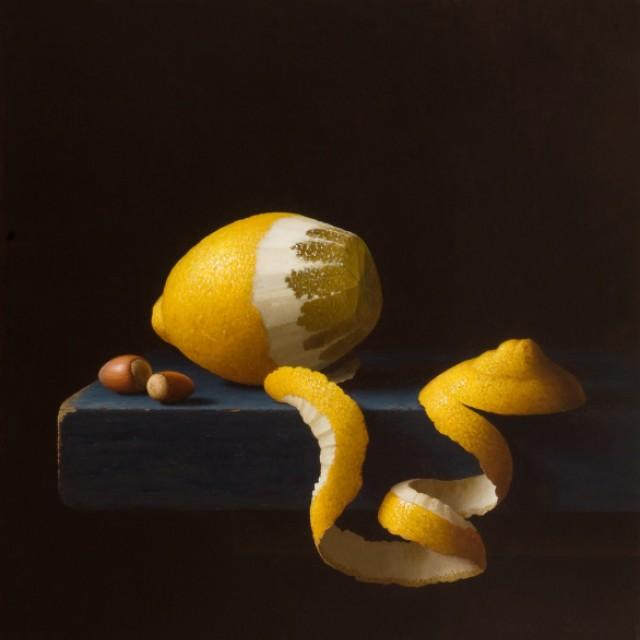 Peeled Lemon & hazelnuts