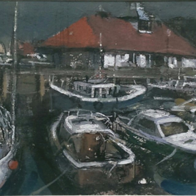 Harbour scene, Rothesay