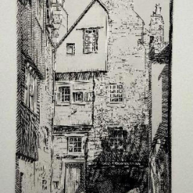 Bakehouse Close, Edinburgh