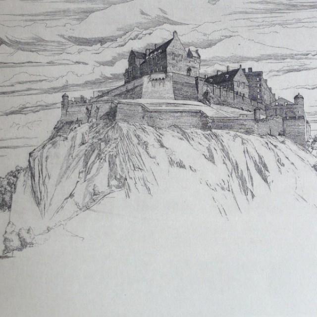 Edinburgh Castle from the West