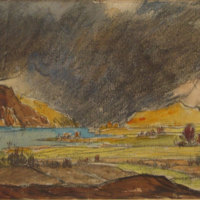 Storm approaching Taynuilt