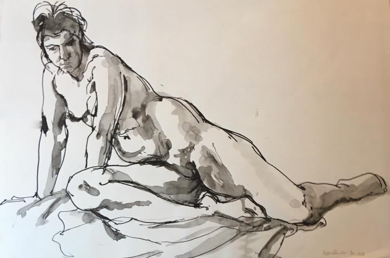Crouching figure, 1978