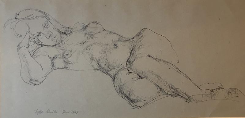 Reclining Figure, 1967