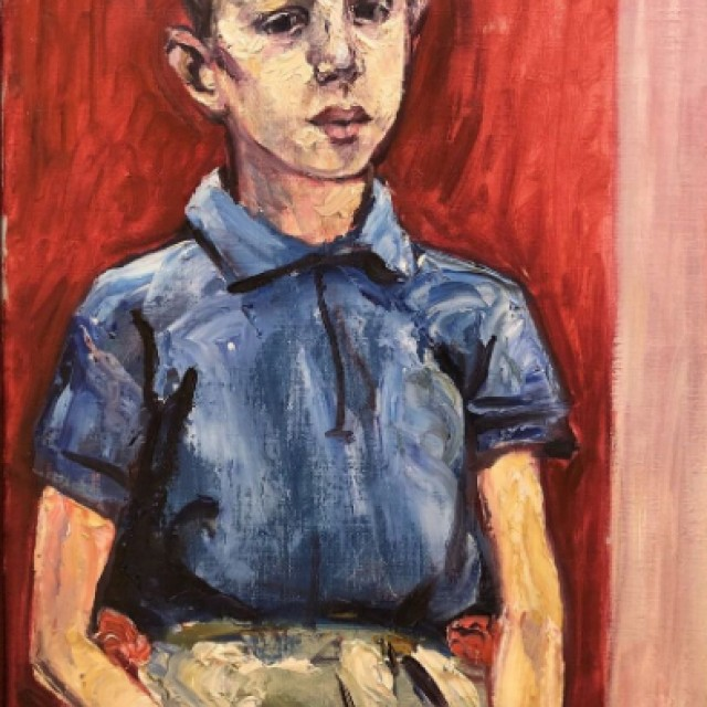 Seated Boy, 1964