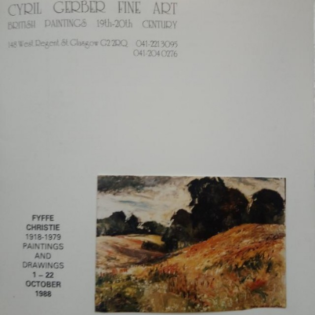 Fyffe Christie - Paintings and Drawings
