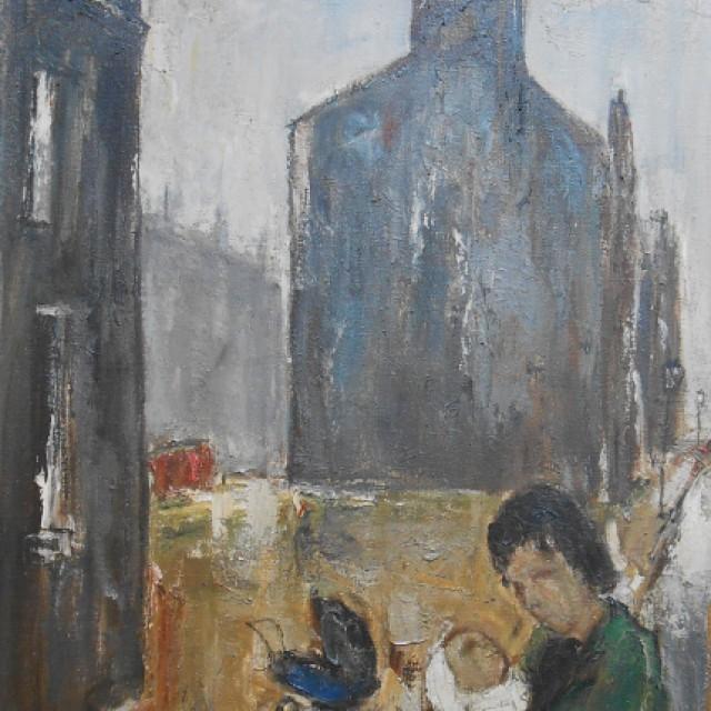 Rotten Row, Glasgow, 1961