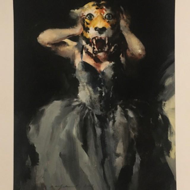 Tiger-headed woman, 2005