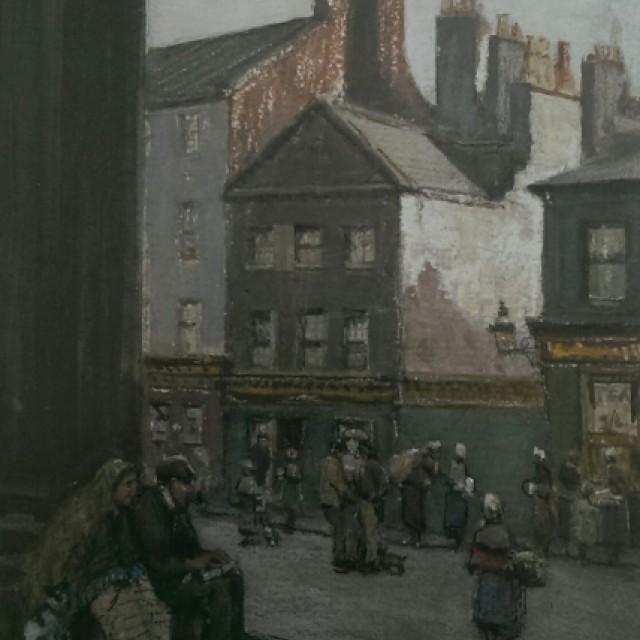 In The Briggait, Glasgow, 1891