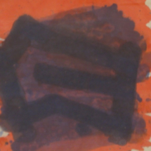 Untitled (Orange & Purple)