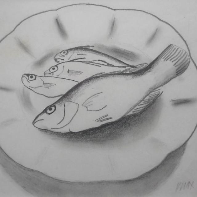 Fish on a Dish, 1979