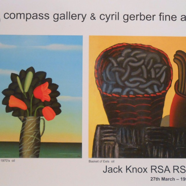 Jack Knox RSA RSW RGI: Paintings and Drawings 1956 to present day