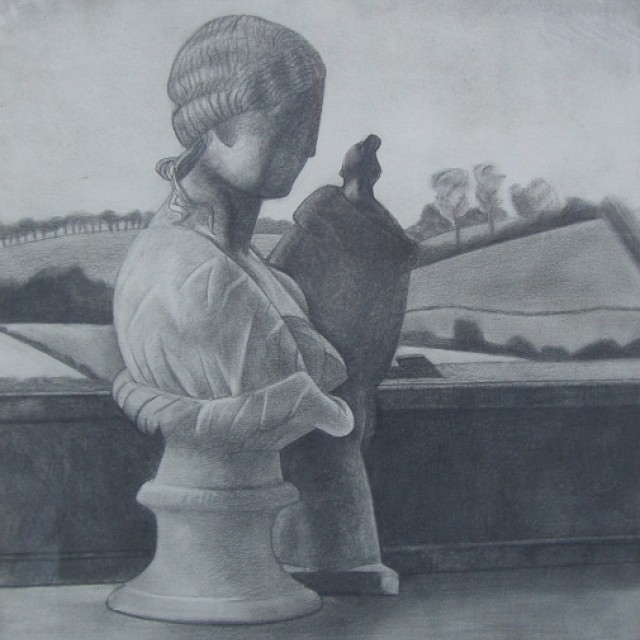 Bust & Tanagra in Landscape
