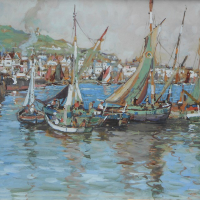THe Fishing Fleet, Honfleur