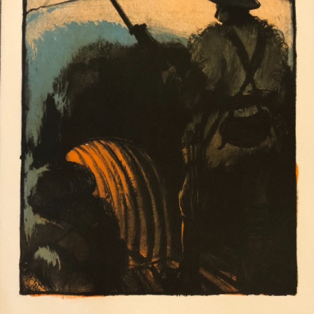 Yesterday the Trenches, Labour Partyt poster, 1910