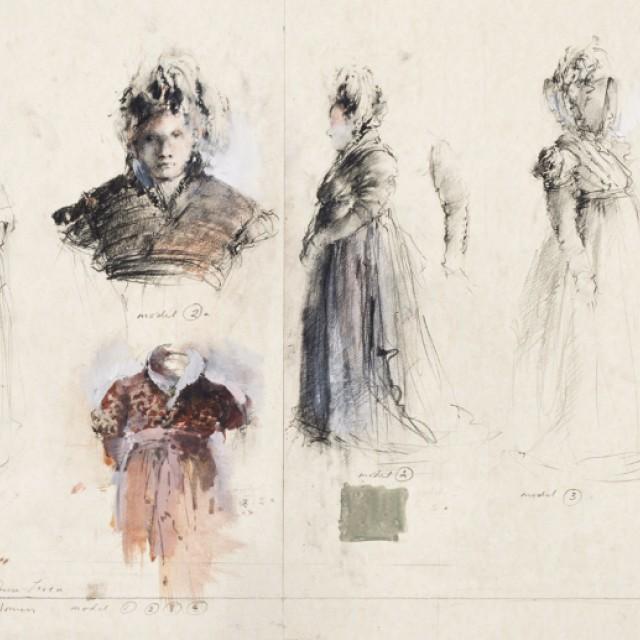 Aristocratic Women - Tosca