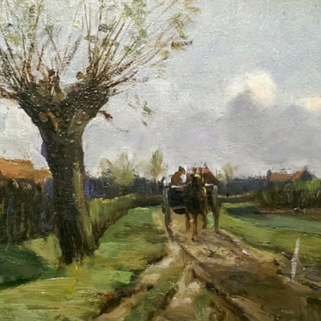 A Road in the Low Countries