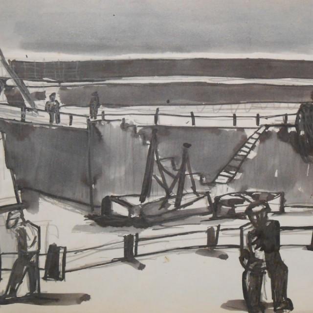 Scottish Fisherfolk Series 5, Harbour