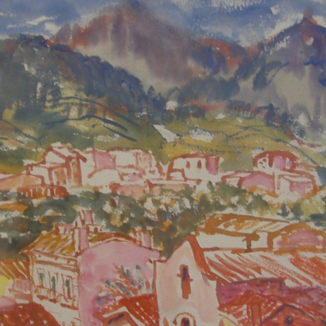 Provence Town & Hills