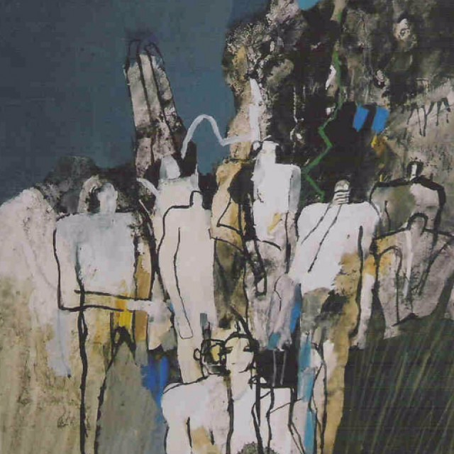 Assembly of Figures III, 1965
