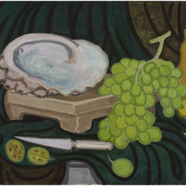 Green Grapes and Shell, 1988