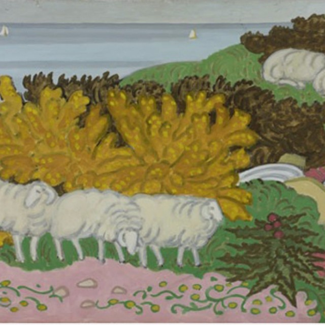 Sheep on the Hillside 2, 1991