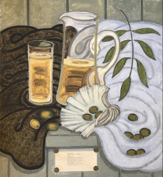 Olive, 1988 (with I Hamilton Finlay)   £5,400