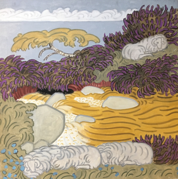 Sheep & Heather No. 3, 1991