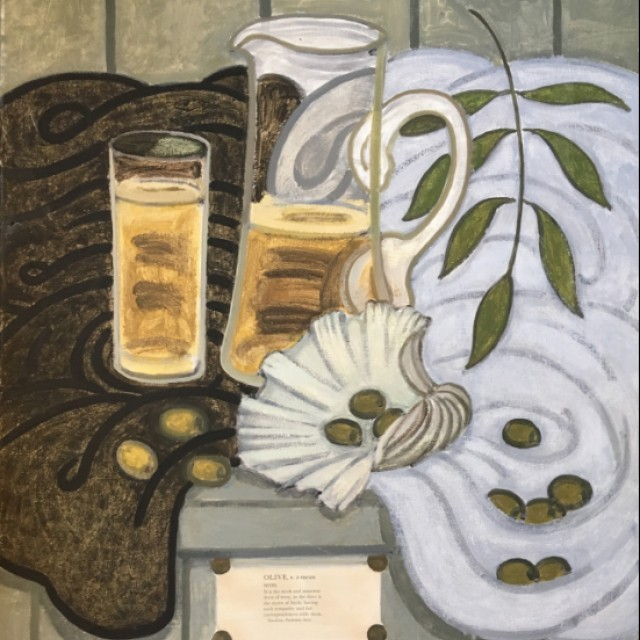 Olive, 1988 (with I Hamilton Finlay)
