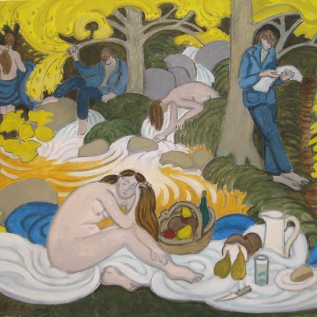 Le Dejeuner sur l Herbe (Homage to Manet), 1988