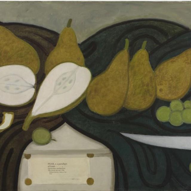 Pear, 1988 (with I Hamilton Finlay)