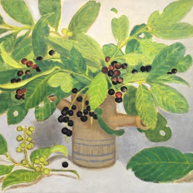 Cherry Laurel, 1978   (sold)