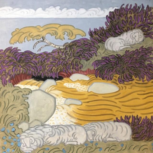 Sheep & Heather No. 3, 1991