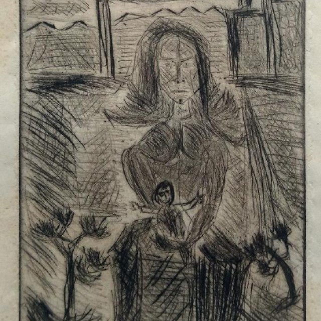 Mother & Child, 1948-49
